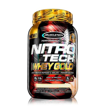 NITRO TECH WHEY GOLD MUSCLETECH - 1KG