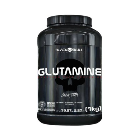 GLUTAMINA BLACK SKULL - 1KG
