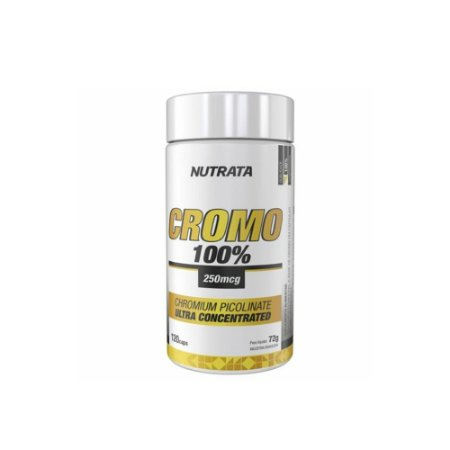 CROMO PICOLINATO NUTRATA - 120 CAPS