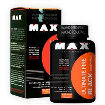 ULTIMATE FIRE BLACK MAX TITANIUM - 120 CAPS