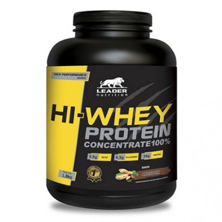 HI-WHEY PROTEIN CONCENTRATE 100% LEADER - 1,8KG