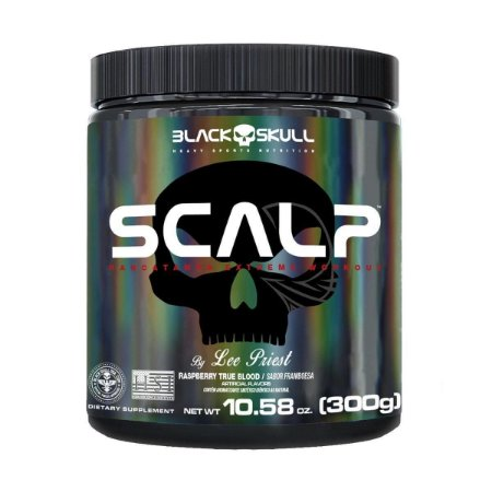 SCALP BLACK SKULL - 150G