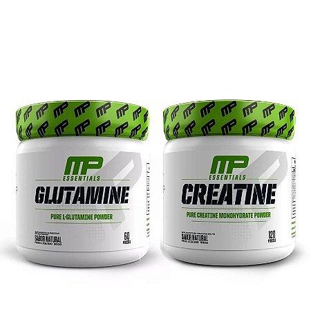 KIT MP - CREATINE 300G + GLUTAMINE 300G