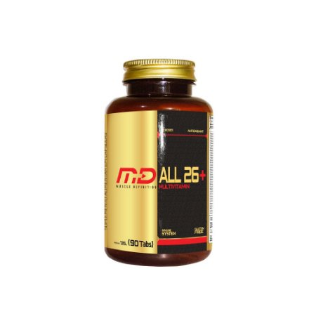 ALL 26 PLUS MUSCLE DEFINITION - 90 TABLETS