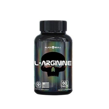 L-ARGININE BLACK SKULL - 60 TABLETS