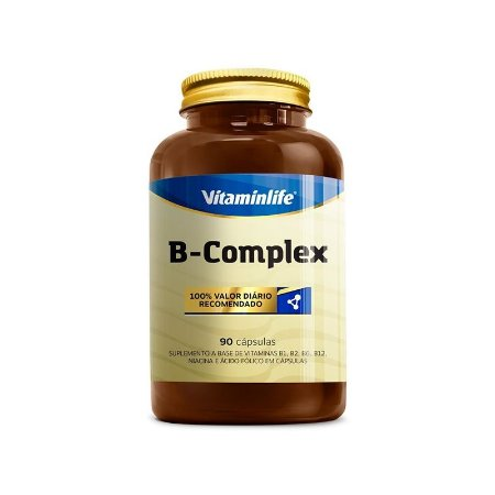B COMPLEX VITAMINLIFE - 90 CAPS