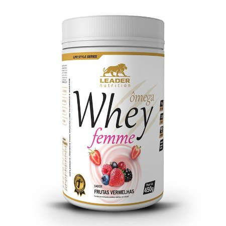 WHEY FEMME LEADER NUTRITION - 450G