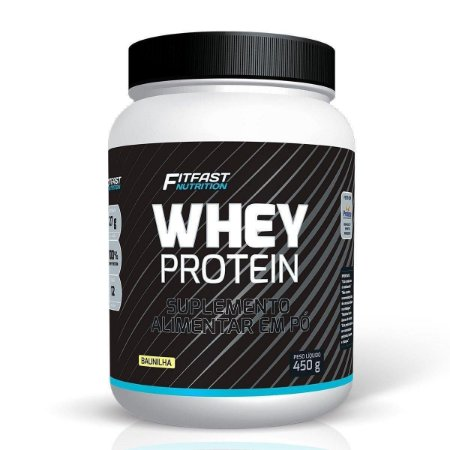WHEY PROTEIN FITFAST - 450G