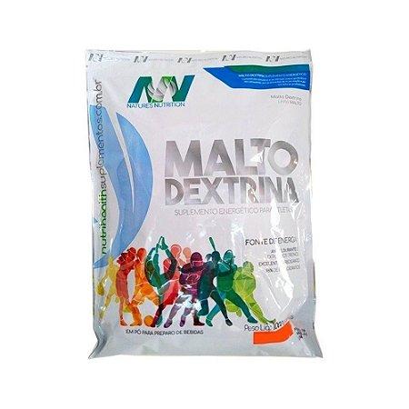 MALTO DEXTRINA NATURES NUTRITION - 1KG