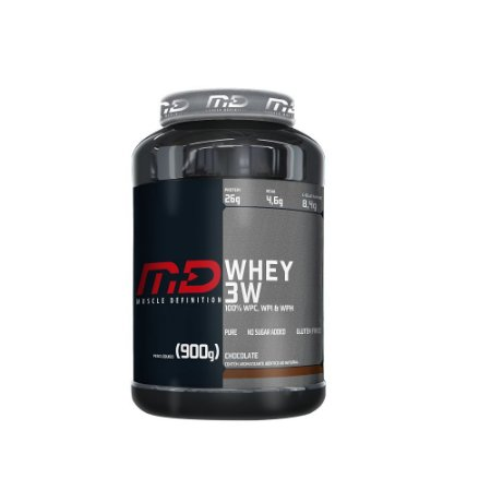 WHEY 3W MUSCLE DEFINITION - 900G