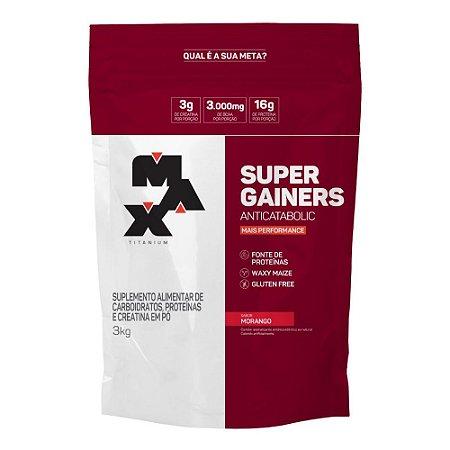 SUPER GAINER MAX TITANIUM - 3KG