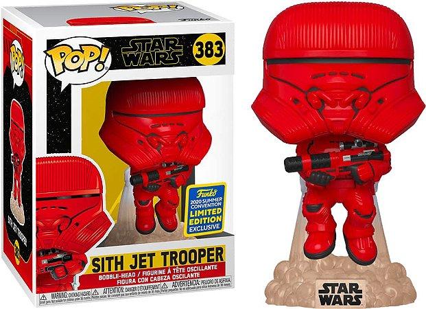 Funko Pop Star Wars: Sith Jet Trooper 383 2020 summer convention Exclusive