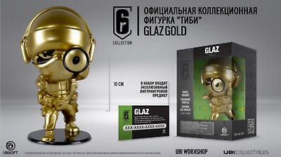 Rainbow Six Siege Chibi Glaz Dourado 10cm (Produto Oficial)