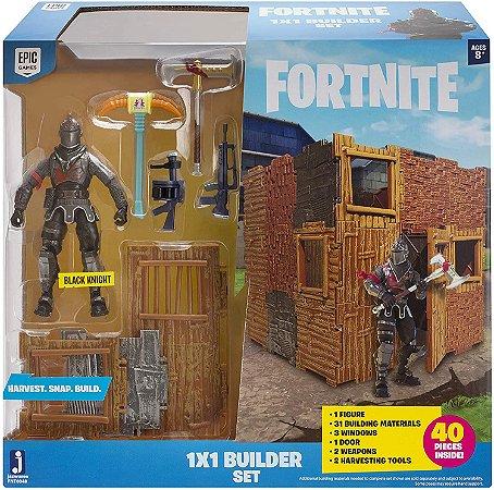 Fortnite Black Knight Builder Set com 40 Peças