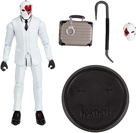 McFarlane Toys Fortnite Wild Card Red (Vermelho) Premium Action Figure de 15cm