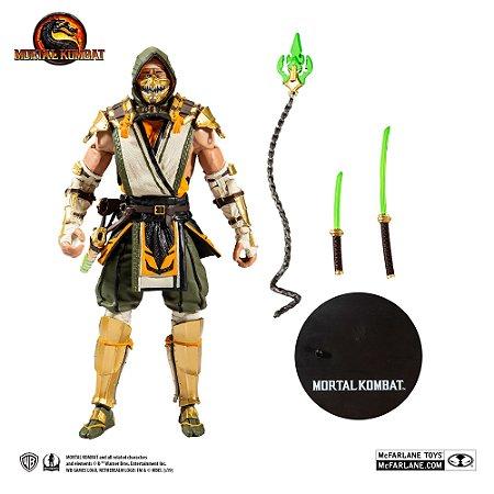 McFarlane Toys Mortal Kombat Scorpion Premium Action Figure Gamestop Exclusive de 18cm