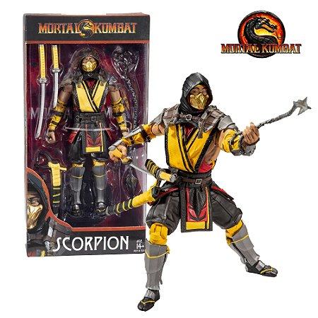 McFarlane Toys Mortal Kombat Scorpion Premium Action Figure de 18cm