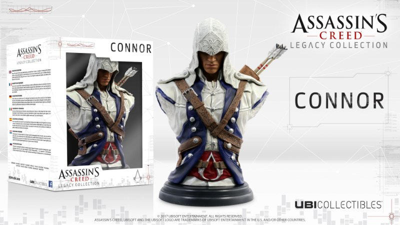 Assassin's Creed Connor Busto Character Figure