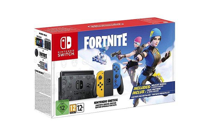 Nintendo Switch Fortnite Edition (NOVO - Não inclui DLC)