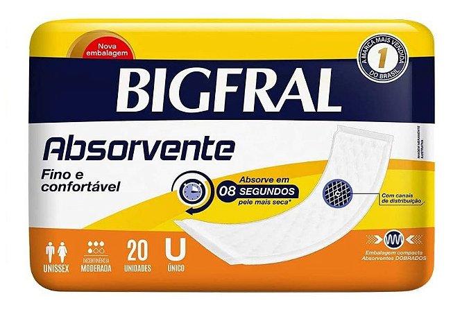Absorvente Fino e Confortável-BigFral- 20 unidades