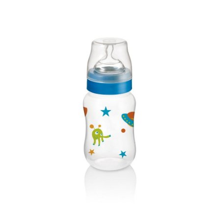 Mamadeira Boys And Girls Pp Azul Ortonatural 250ml Multikids - BB105