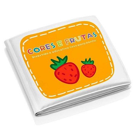 Livro Educativo de Banho Frutas e Cores BB205 Multikids
