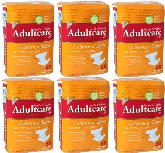 Fralda Geriatrica Adultcare Premium - XG - 42 unidades