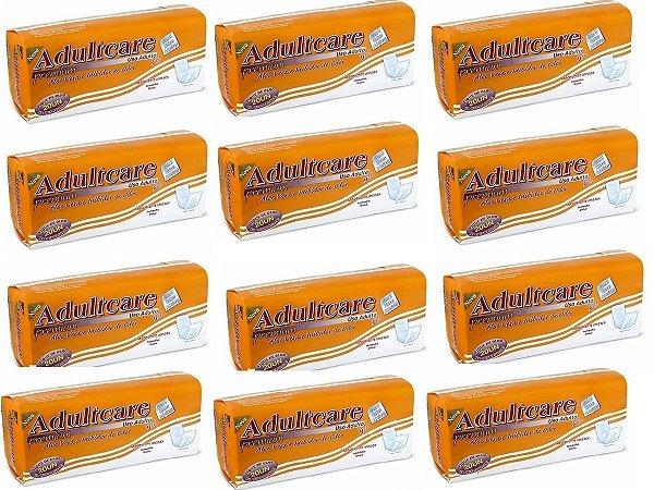 Absorvente Adulto Adultcare Premium Unissex - 240 unidades
