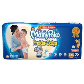 Fralda-Calça Infantil MamyPoko - XXG - 28 unid