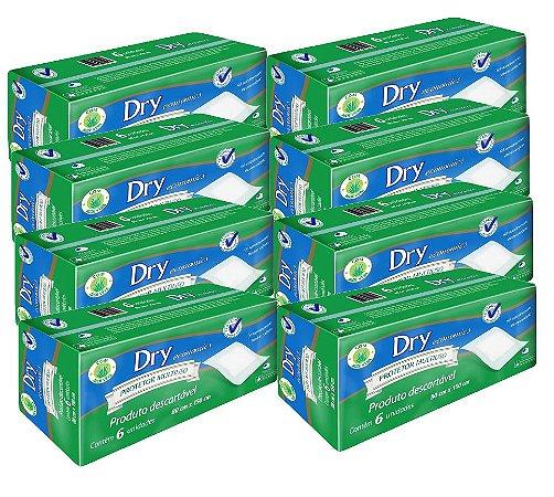 Protetor de cama  masterfral Dry Descartável kit C/48 uni