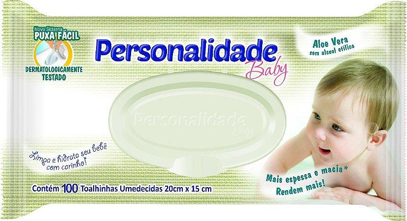Toalhinha Umedecida Personalidade Com 100 Un x 12 Pacotes