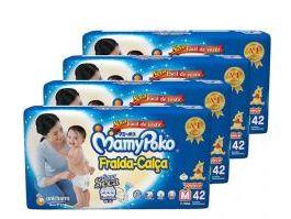 Fralda-calça Infantil Mamypoko -M 168 Unidades