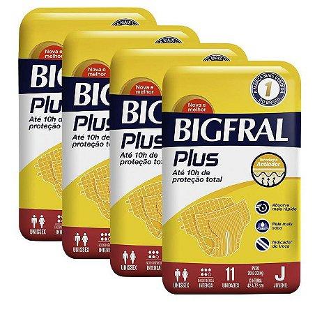 Fralda Geriatrica BigFral Plus Juvenil- 44 unidades