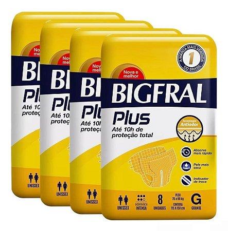 Fralda Geriatrica BigFral Plus G 32 unidades