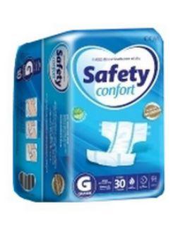 Fralda Geriatrica Safety Confort G 30 unidades