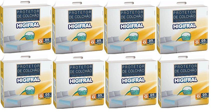 Protetor de colchão Descartavel Higifral -40unidades