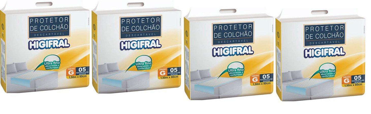 Protetor de colchão Descartavel Higifral -20 unidades