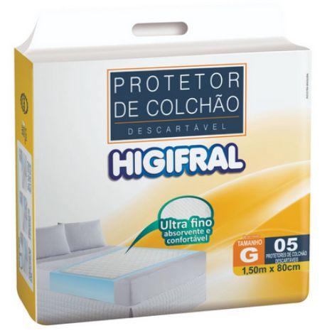 Protetor de colchão Descartavel Higifral -05 unidades