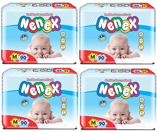 Fralda Infantil Nenex -M- 360 unidades