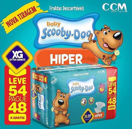 Fralda Infantil Scooby-Doo -XG  216 unidades