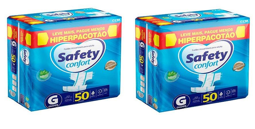Fralda Geriatrica Safety Confort G-100 unidades