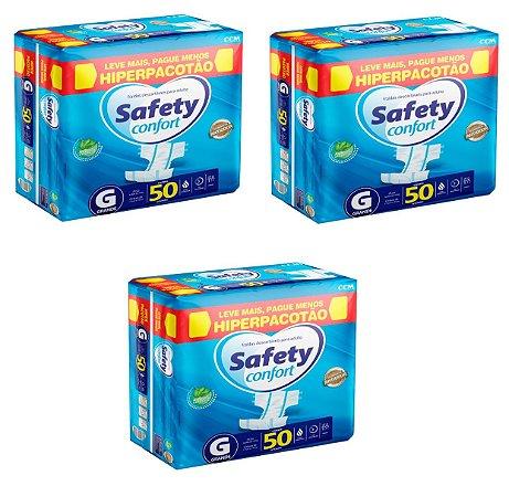 Fralda Geriatrica Safety Confort G-150 unidades