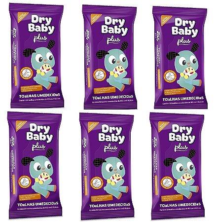 Toalhas Umedecidas Dry Baby Plus - 300 unidades