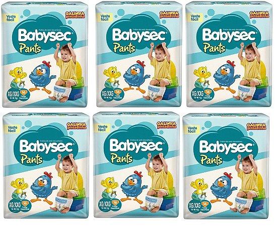Fraldas Babysec Pants-Galinha Pintadinha- XG/XXG 96 unidades