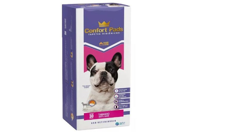 Tapete Higienico Confort Pads-30 Unidades
