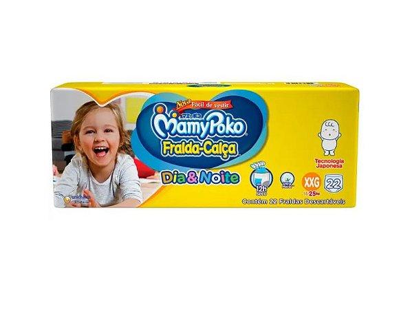 Fralda-Calça Infantil MamyPoko Dia&Noite  XXG -22 unidades