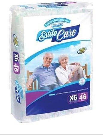 Fralda Geriatrica Estilo Care Uso Adulto- XG 46 unidades