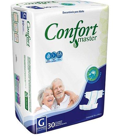 Fralda Geriatrica Confort Master G 30 unidades