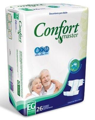 Fralda Geriatrica Confort Master EG 26 unidades