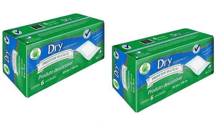 Protetor Multiuso Descartável- masterfral Dry 12 unidades